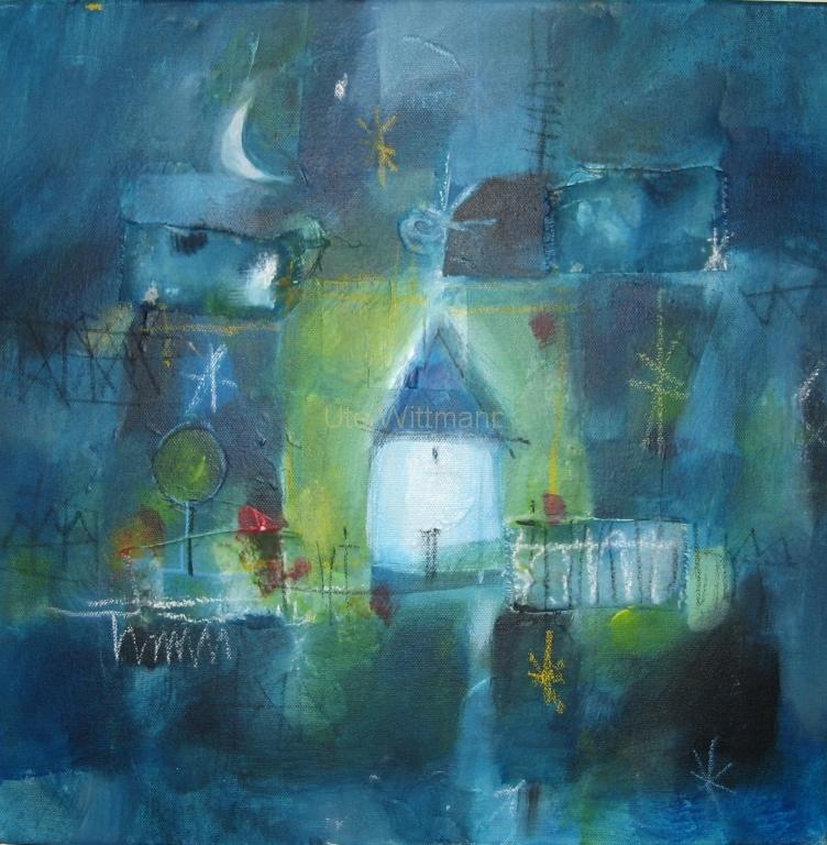 2007.02 Haus in der Nacht
