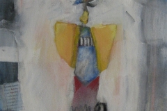 2007.02 Engel über Pferd
