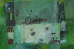 2007.02 Fahrrad und Schlittschuh