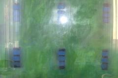 2007.02 Muster auf grün