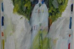 Engel auf Weiss