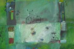 Fahrrad und Stadt