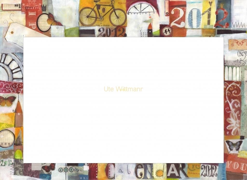 Kalender 2012 - 1 - geschnitten - rahmen