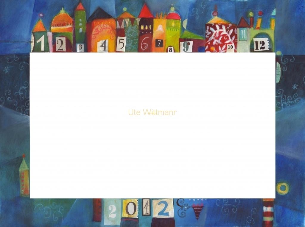 Kalender 2012 - 2 - geschnitten - rahmen