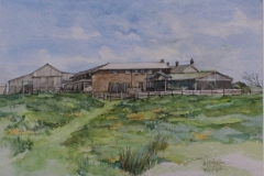 Aquarell - Houndapitt Cottages - Cornwall